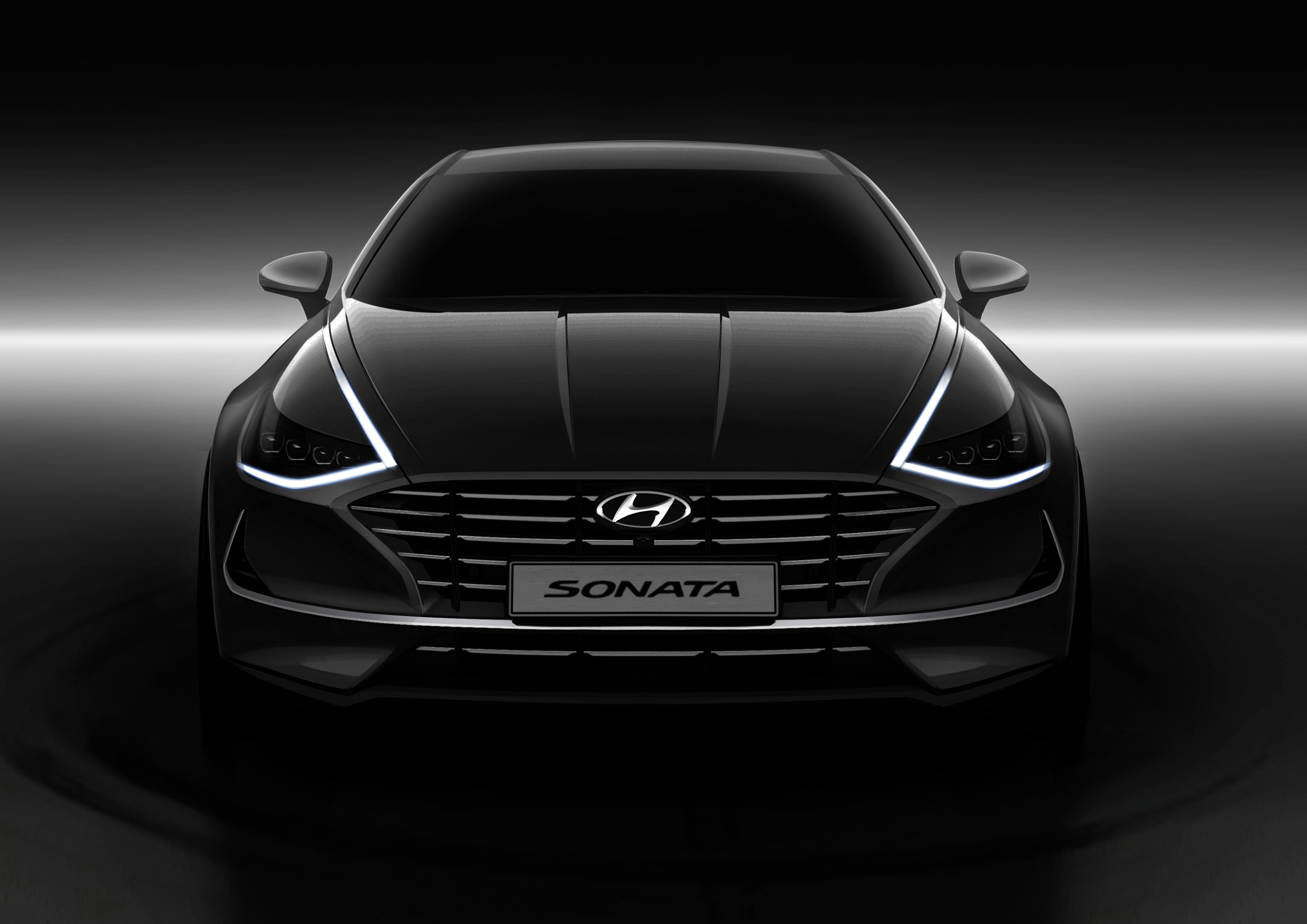 Hyundai Motor Shares First Glimpse of All-New Sonata (Photos) - Brand Spur