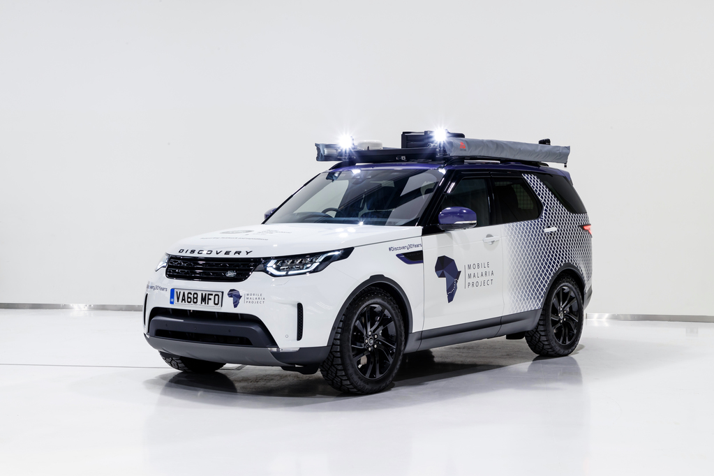 Mobile Malaria Project Uses Land Rover Discovery for Journey (Pictures)
