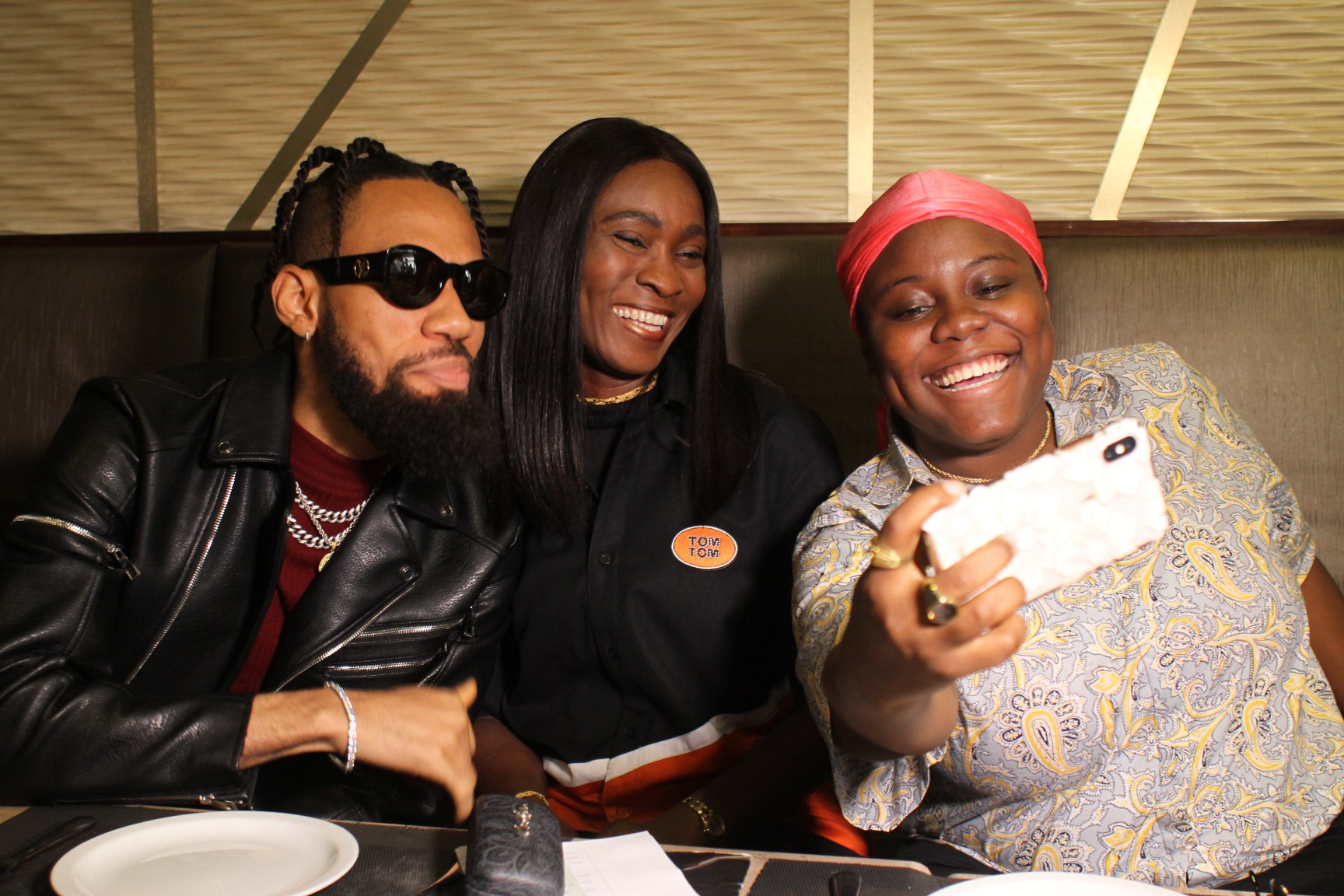 TomTom Signs Phyno, Teni As Brand Ambassadors (Pictures) - Brand Spur