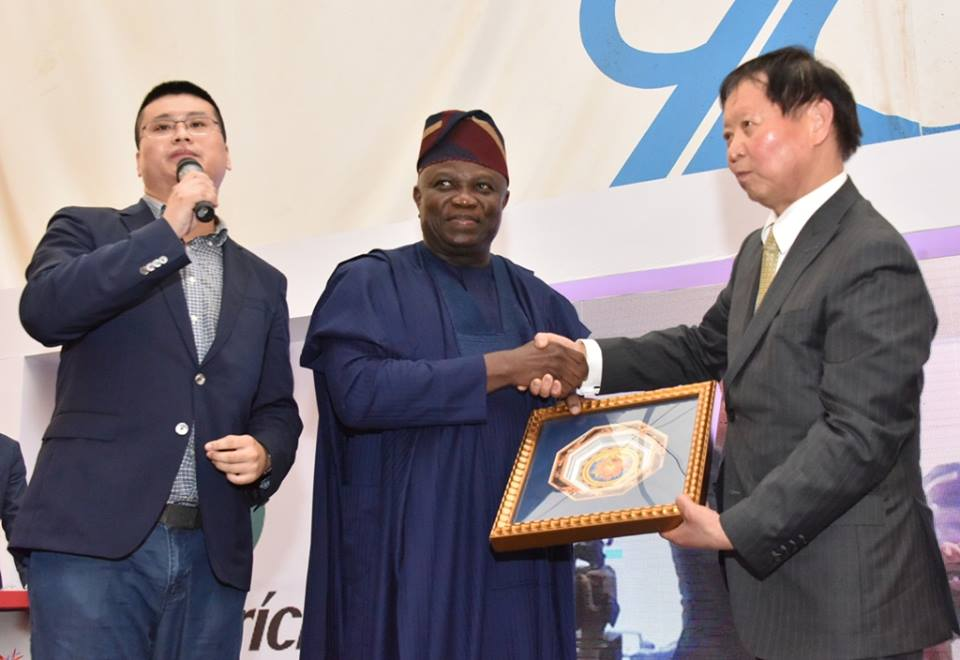 Ambode performs pre-launch of $50 million factory in lekki Free Zone - Brand Spur