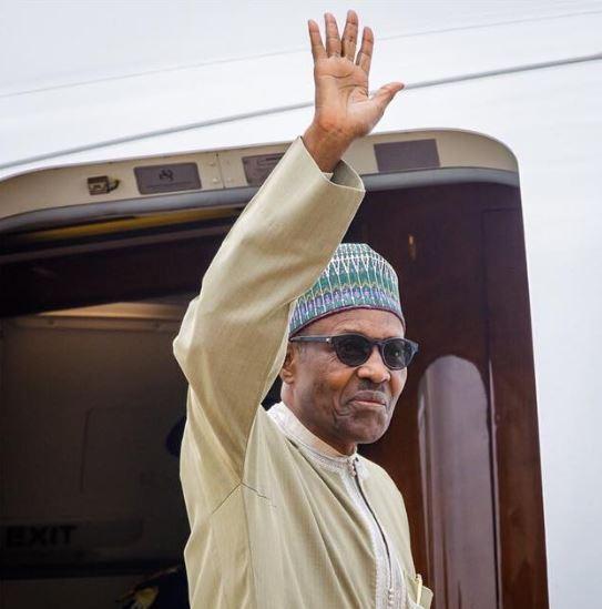 President Muh Buhari Arrives Nigeria from Jordan, Dubai Official Trip