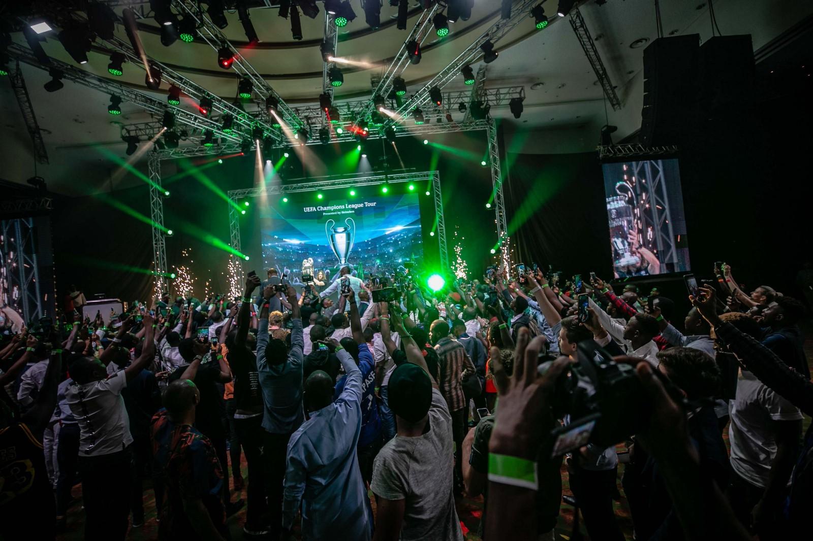 Heineken's Lush Lagos Party Wraps Up UEFA Champions League Tour (Pictures)