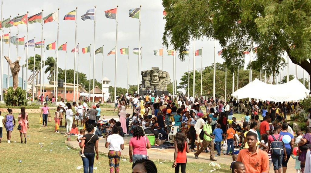 PHOTOS NEWS: LAGOSIANS CELEBRATE ON EASTER MONDAY AT JOHNSON JAKANDE TINUBU (JJT) PARK, IKEJA