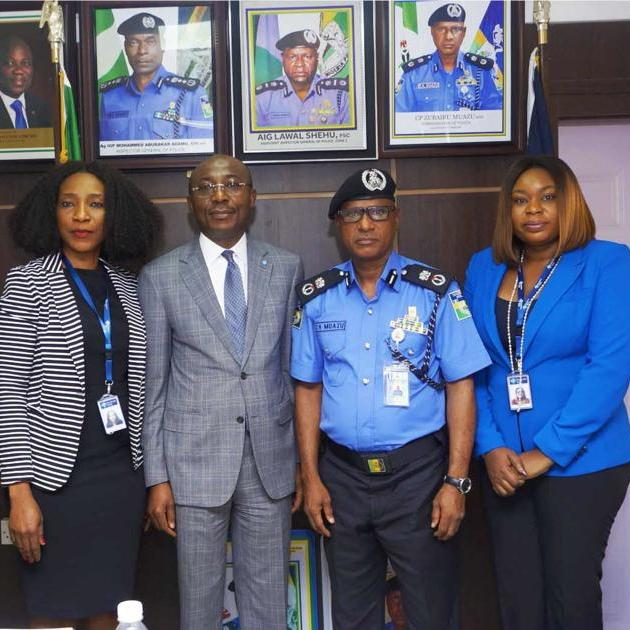 Keystone Bank Executives pays courtesy visit to the Lagos Police Commissioner - Brand Spur