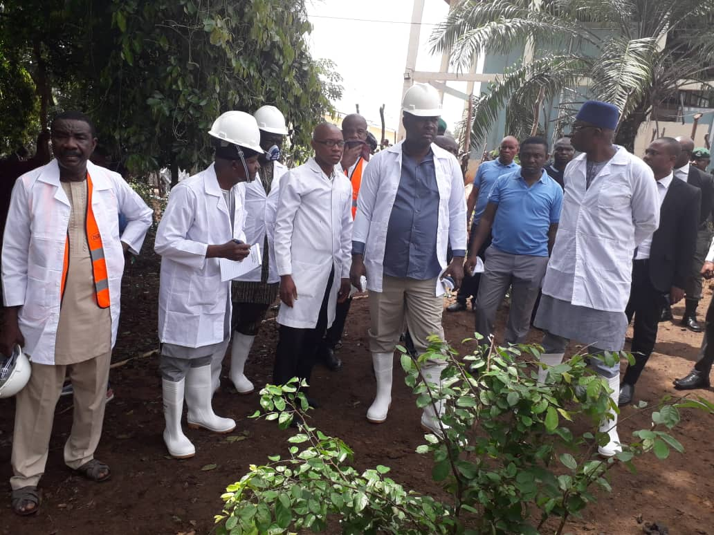 ANAMBRA: Lokpobiri Visits Donkey Ranch, Pledges FG's Support (PICTURES)