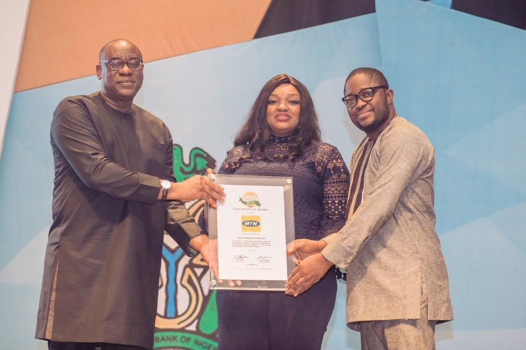 MTN Nigeria Bags CBN Innovation Award For Second Consecutive Year - Brand Spur