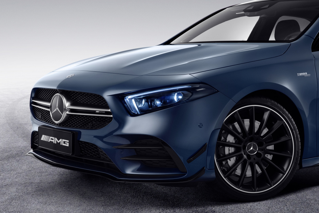 The new Mercedes-AMG A 35 L 4MATIC (Pictures) - Brandspurng 2