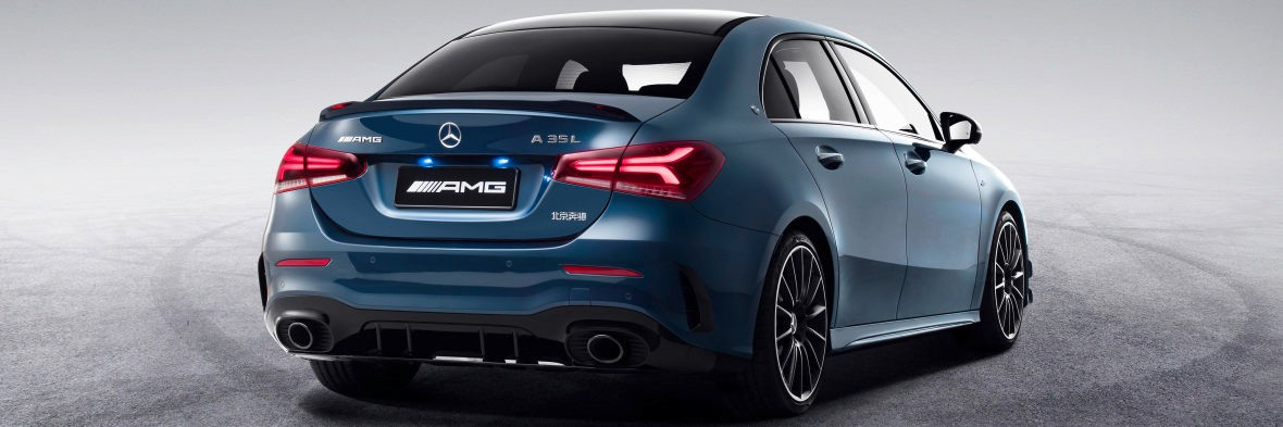 The new Mercedes-AMG A 35 L 4MATIC (Pictures) - Brandspurng 1