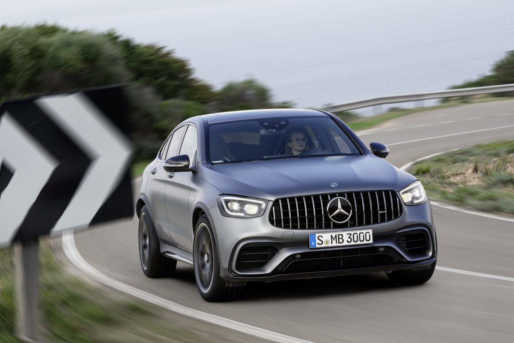 The new Mercedes-AMG GLC 63 4MATIC+ models (Pictures) - Brandspurng 1