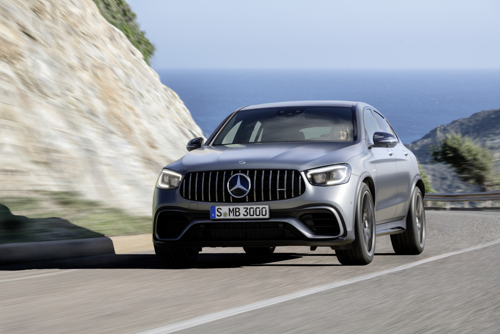 The new Mercedes-AMG GLC 63 4MATIC+ models (Pictures) - Brandspurng 2