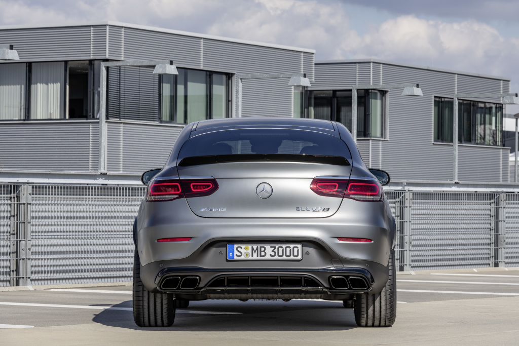 The new Mercedes-AMG GLC 63 4MATIC+ models (Pictures)