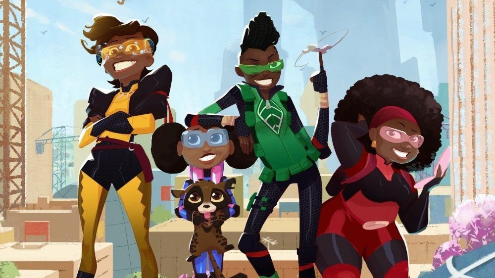 """NETFLIX UNVEILS ITS FIRST ANIMATED AFRICAN SERIES NAMED """"MAMA K'S TEAM 4"""""""