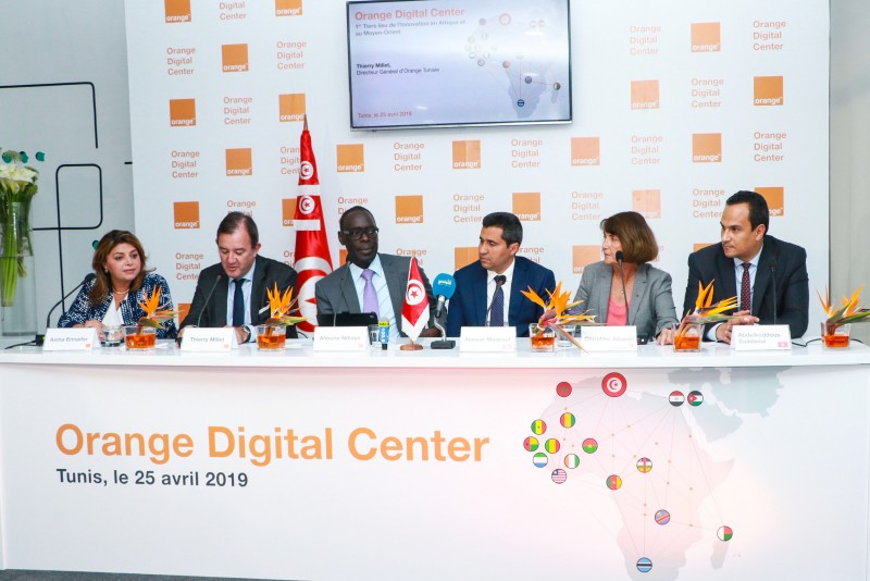 "Orange, a key player engaged in the digital transformation in Africa and the Middle East, launches its first ""Orange Digital Centre"" in Tunisia"