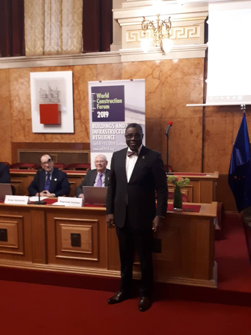 Photo News – NSE President, Adekunle Mokuolu attends Engineering Conference of Slovenian Engineer