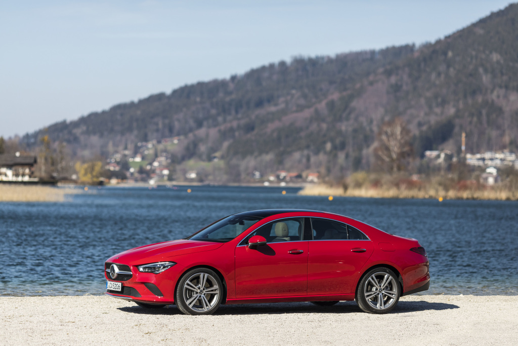 The new Mercedes-Benz CLA Coupé: Cool, laid-back, exciting: a trendsetter (Pictures) - Brand Spur