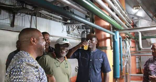 Golden Guinea Breweries commences full operation in Abia (Pictures)