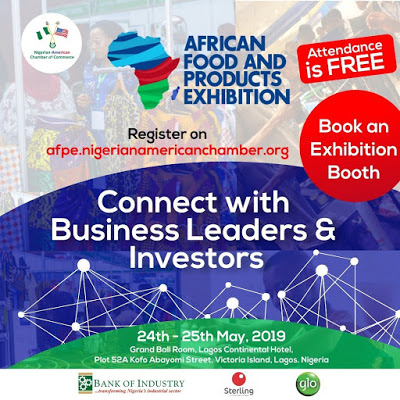 Glo Partners 2019 Nigerian-American African Food & Products Exhibition