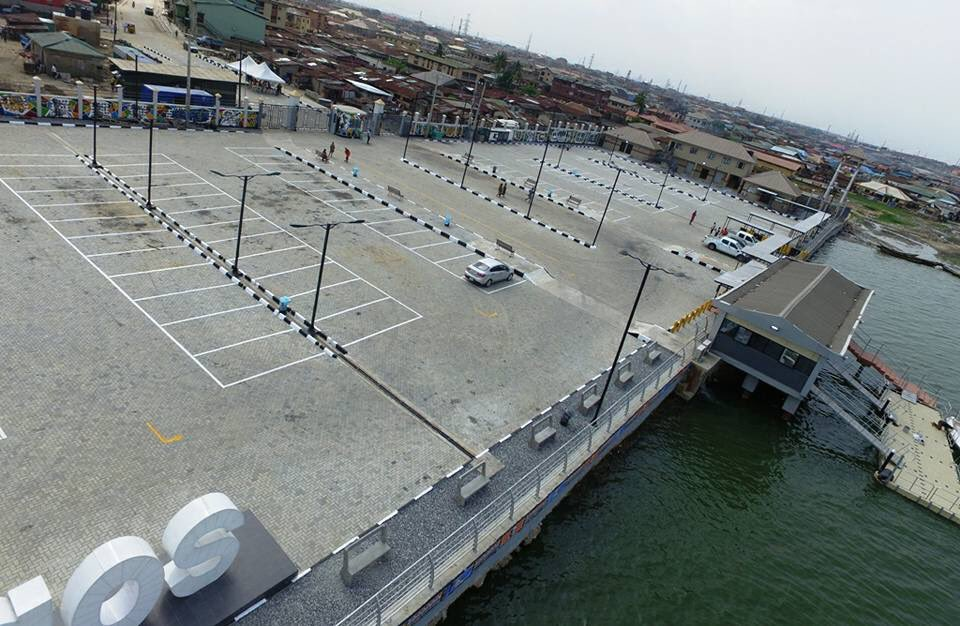 Pictures: Newly Built Bariga Waterfront Jetty, Ilaje Road Ready For Commissioning By Governor Ambode