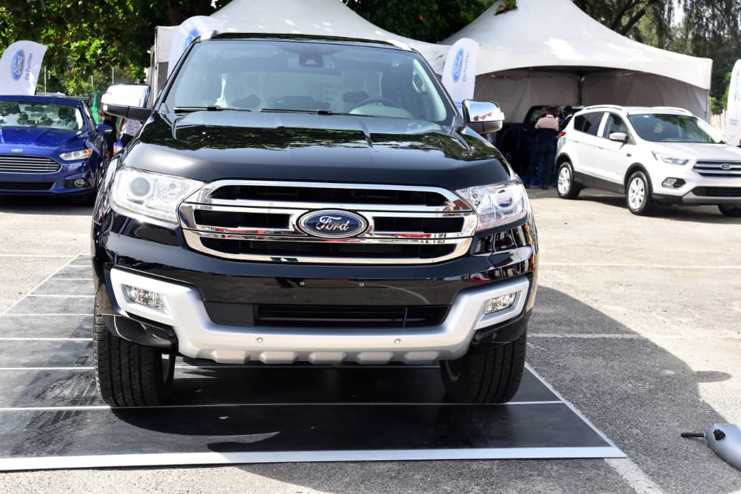 Coscharis Motors launches The 2019 Ford Everest At The Lagos International Motor Show (Photos) - Brand Spur