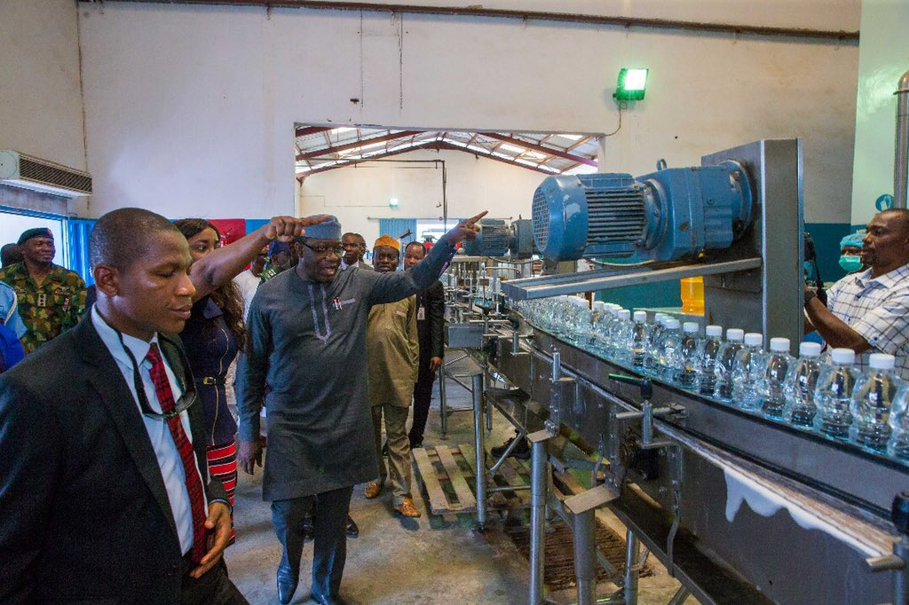 Gossy Water Returns As Fayemi Commissions Production Plant (Photos)