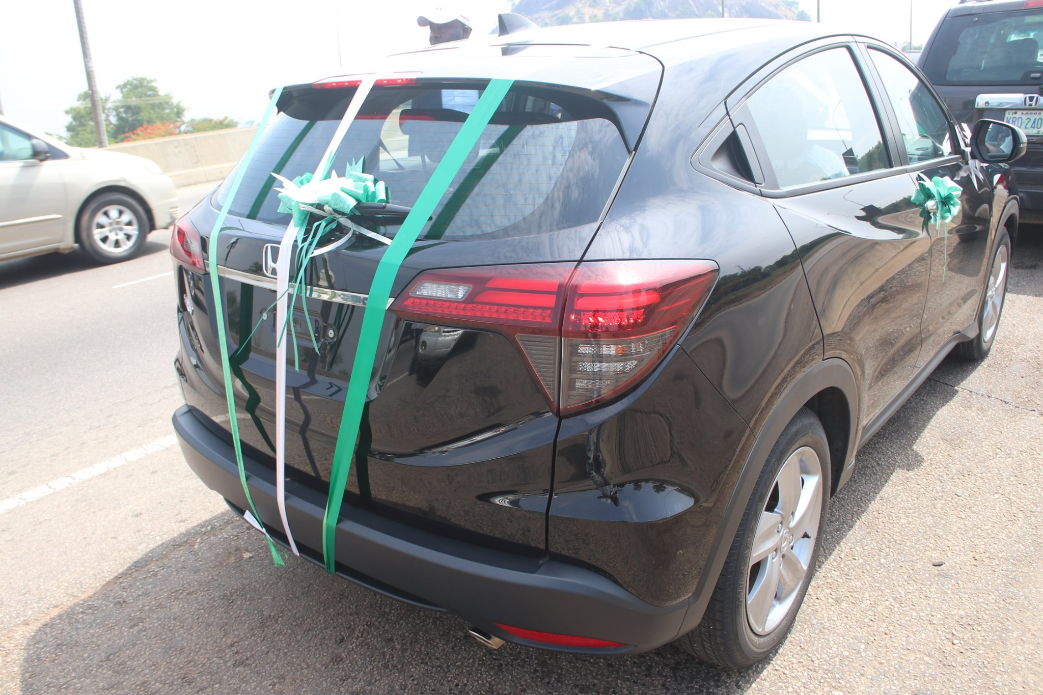 Honda presents the all-new Honda HR-V assembled in Nigeria to NADDC (PHOTOS)