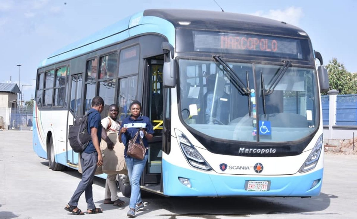 Lagos Launches New Buses With Free Service On Five Routes Photos Brand Spur