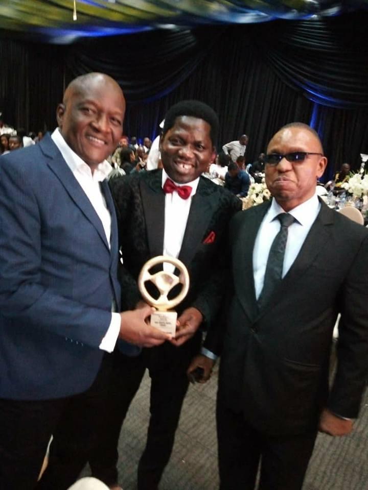 Lagos Traffic Radio wins Best Radio Station Award (Photos)