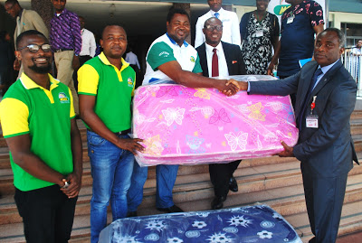 Mouka Foams Distributes Mattresses to Babies Born on Children's Day