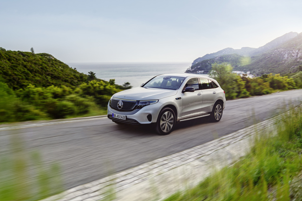 Mercedes-Benz EQC sales release & start of production: Electrified Mercedes hits the road (Photos)