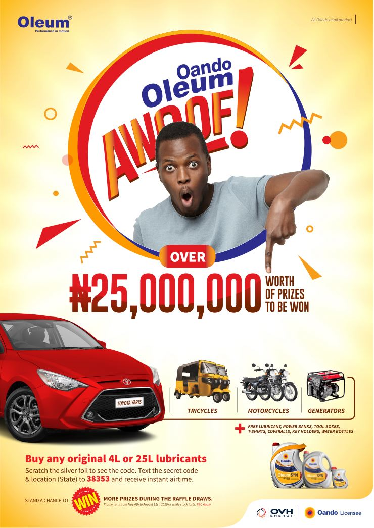 OVH Energy Rewards Customers with Oleum Scratch and Win Promo