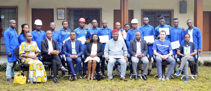 IITA-Onne hosts graduation of Ogoni youth after machine fabrication training