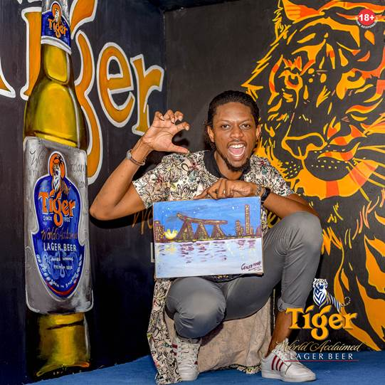 Be a part of Tiger Beer Social Painting Party (Photos)