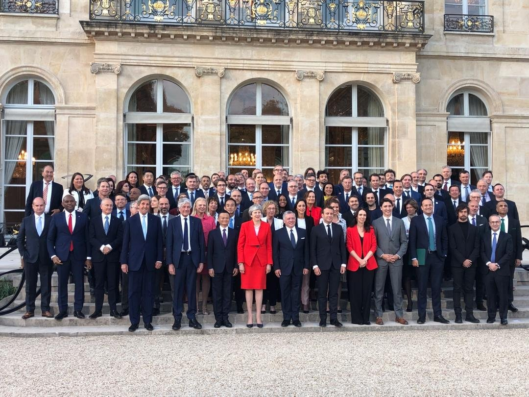 Tony Elumelu: Representing Africa as Global Leaders gather at President Macron's Tech for Good Summit (Photos) - Brand Spur