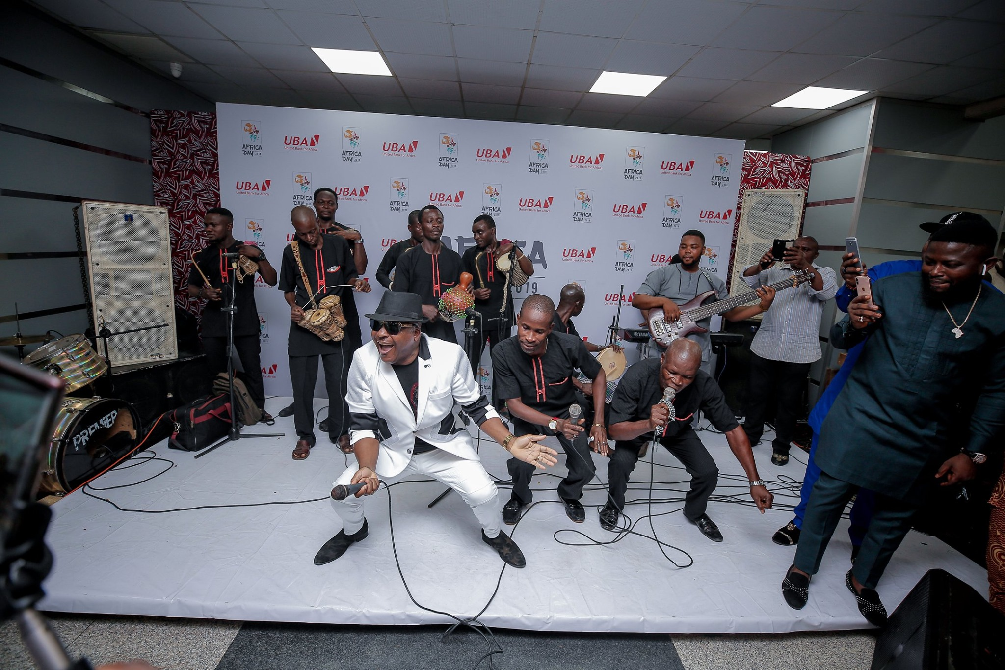 PHOTOS FROM THE UBA AFRICA DAY 2019