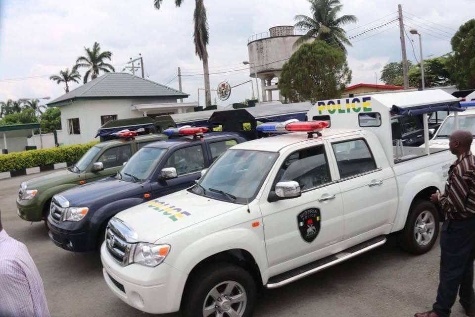 Abia State Government Procures Innoson Vehicles for security operations (Photos)