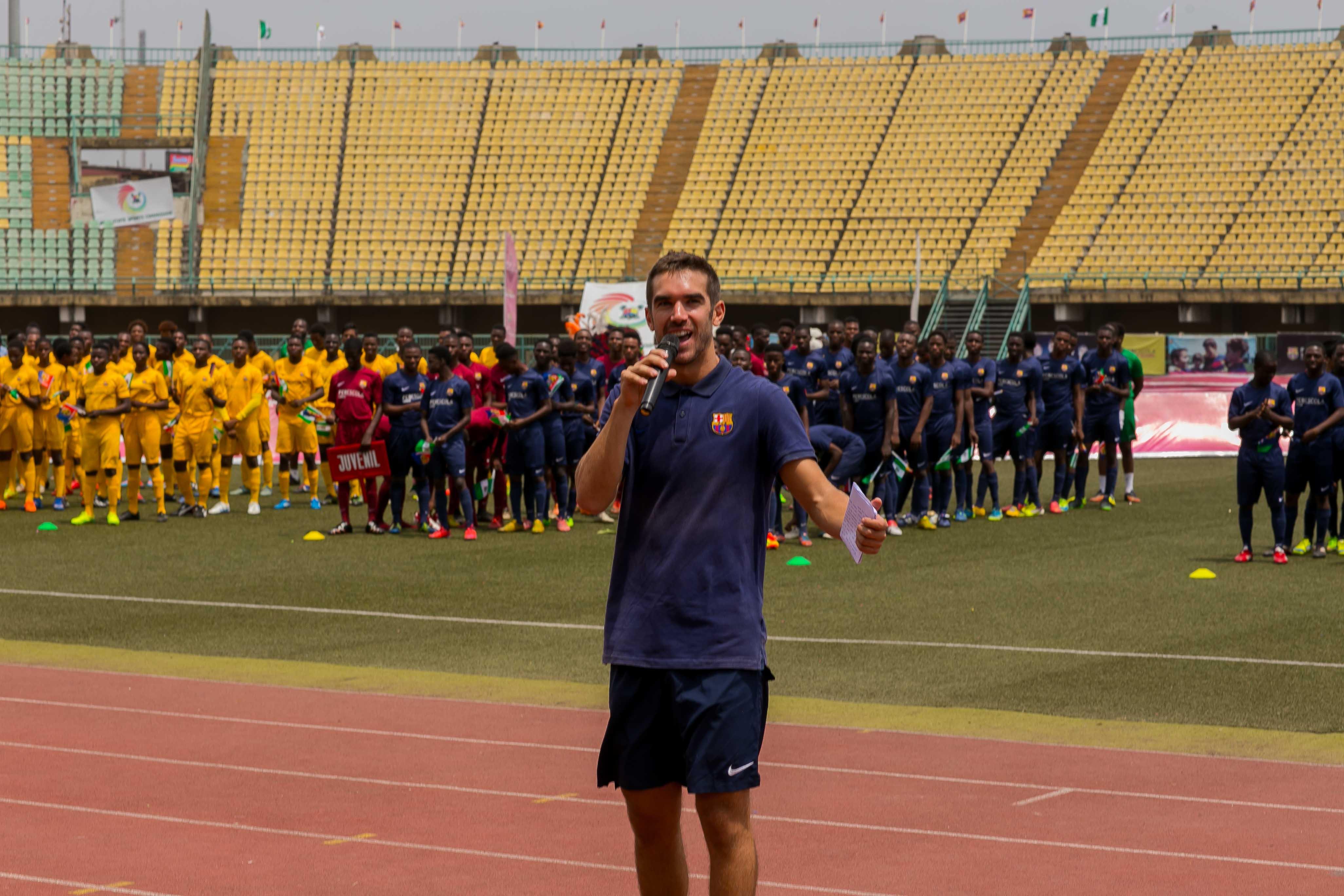 BARÇA ACADEMY; GROOMING FUTURE FOOTBALL STARS FROM NIGERIA - Brand Spur