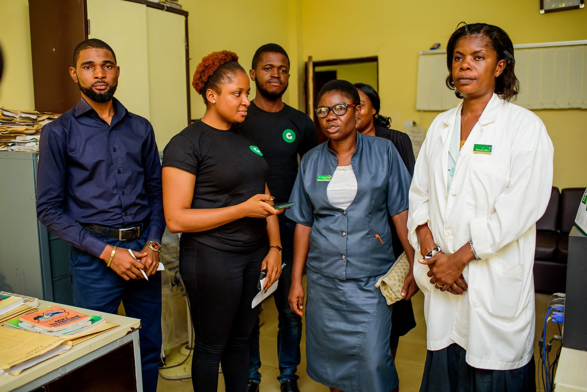 Gokada visits National Orthopaedic Hospital, Igbobi, donates medical supplies (Photos)