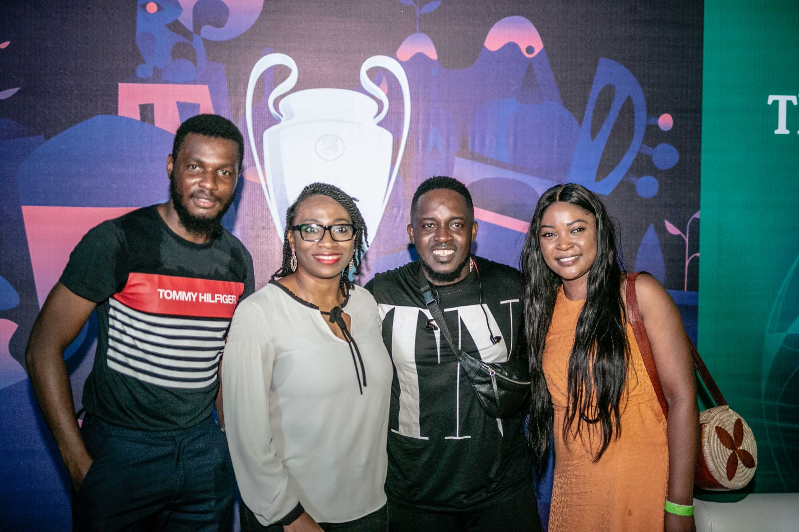 MI Abaga, TeeA, Uti Nwachukwu, DJ BigN, Folu Storms, and Other Excited Consumers at The Heineken UCL Final Match Viewing - Brand Spur