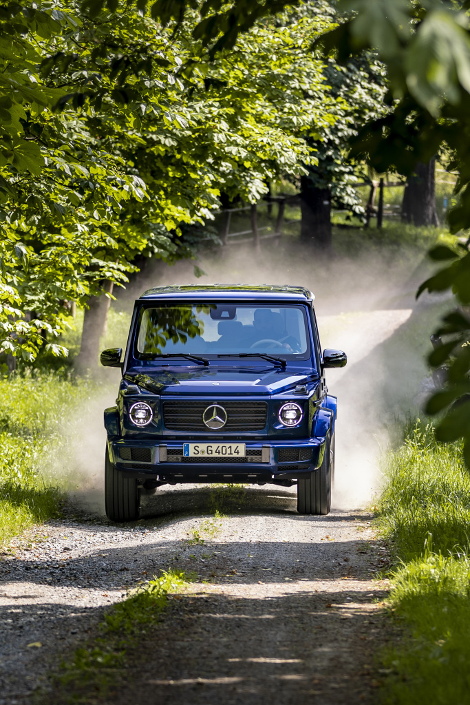 Anniversary for the Mercedes-Benz G-Class: 40 years of the G-Class rocks! - Brand Spur