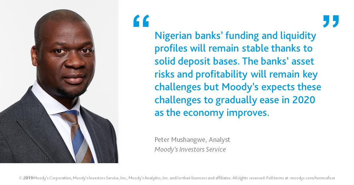 Nigerian Banks get positive ratings from Moody's Investors Service