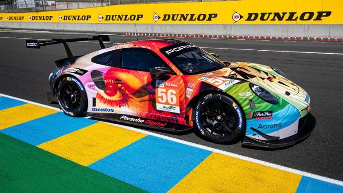Porsche Digital Presents an online platform for vehicle livery design