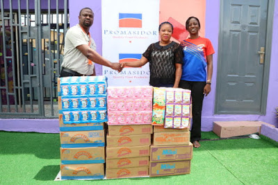 Promasidor Promote Healthy Living of Under-Privileged As They Donates to Orphanages - Brand Spur