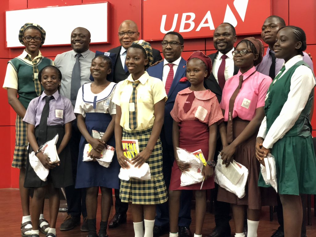 UBA Foundation Celebrates International Day Of The African Child, With Special Reading, Mentoring Sessions (PHOTOS) - Brand Spur