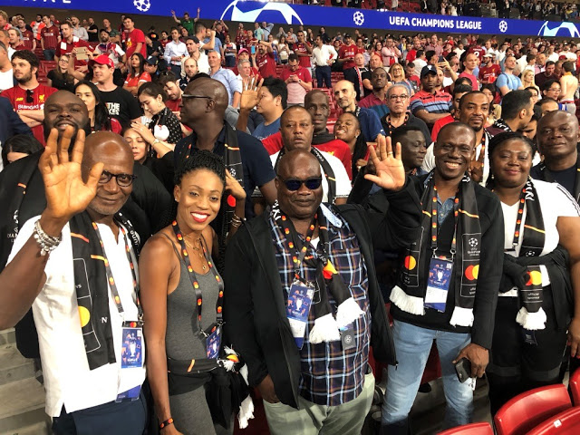 UBA X MASTERCARD: REWARDS CUSTOMERS WITH UEFA EXPERIENCE (PHOTOS)