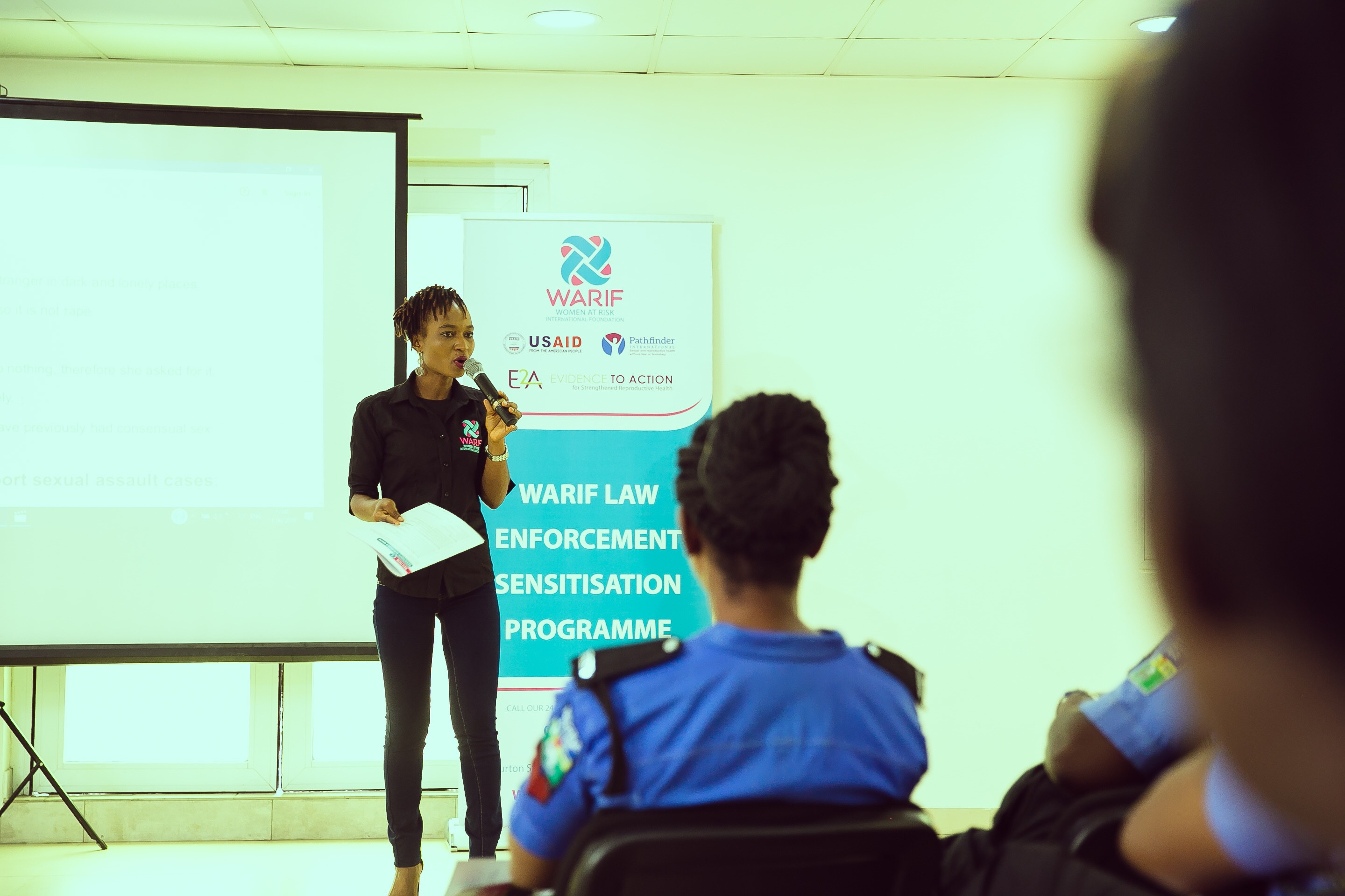 WARIF trains Police Officers in its Law Enforcement Case Management Sensitisation Program (Photos)