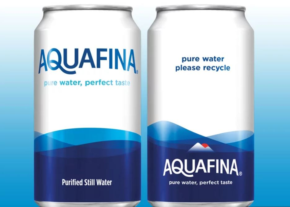 Pepsi is going to start putting its Aquafina water in aluminum cans