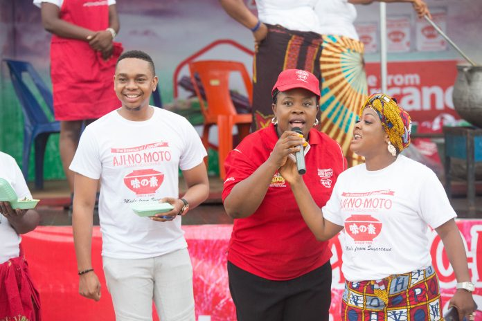 Image result for Ace Comedian, Helen Paul, BBN Contestant Sensitize Women On Ajinomoto Seasoning
