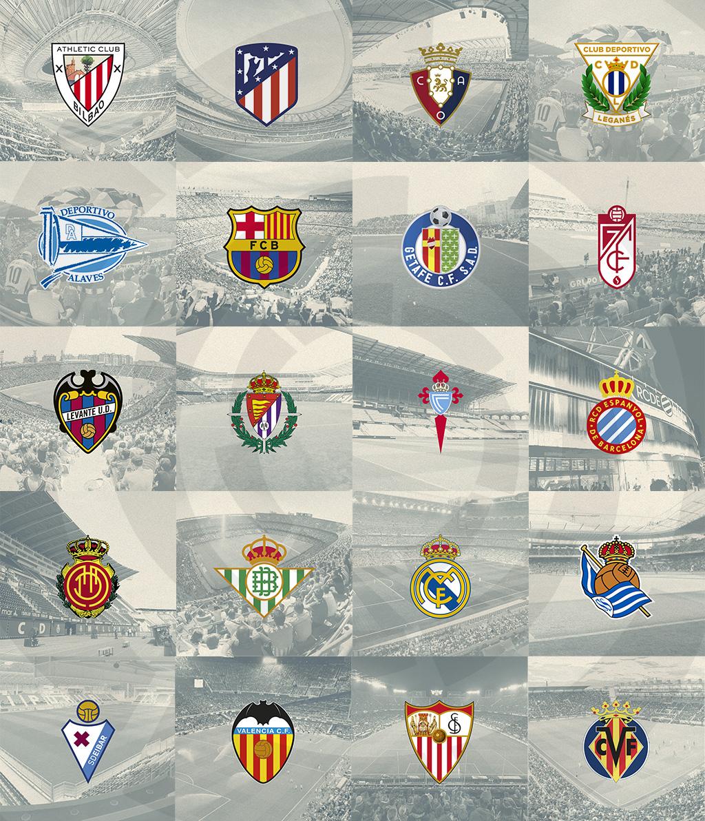 2019-20 LaLiga Santander Fixture List