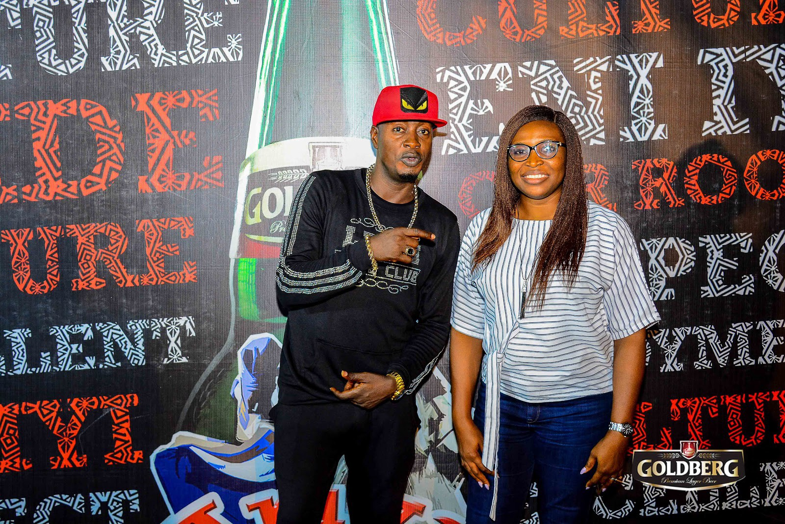 Taye Currency Makes Surprise Appearance At Ariya Repete Selection Party In Ibadan (Photos) - Brand Spur