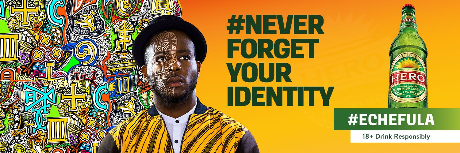 Hero Lager Presents Echefula, Never Forget Your Identity - Brand Spur